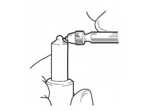 Чистка наконечника