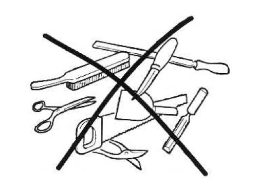 Запрещенные инструменты